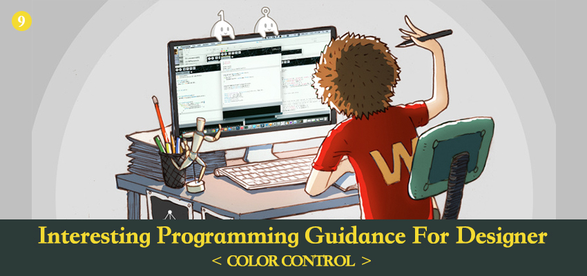 Picture of Interesting Processing Programming Guidance for Designer--Color Control