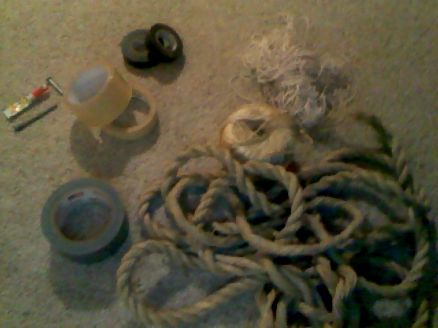 Picture of Duct Tape Rope, the The Answer to the Life Long Question: Rope or Tape
