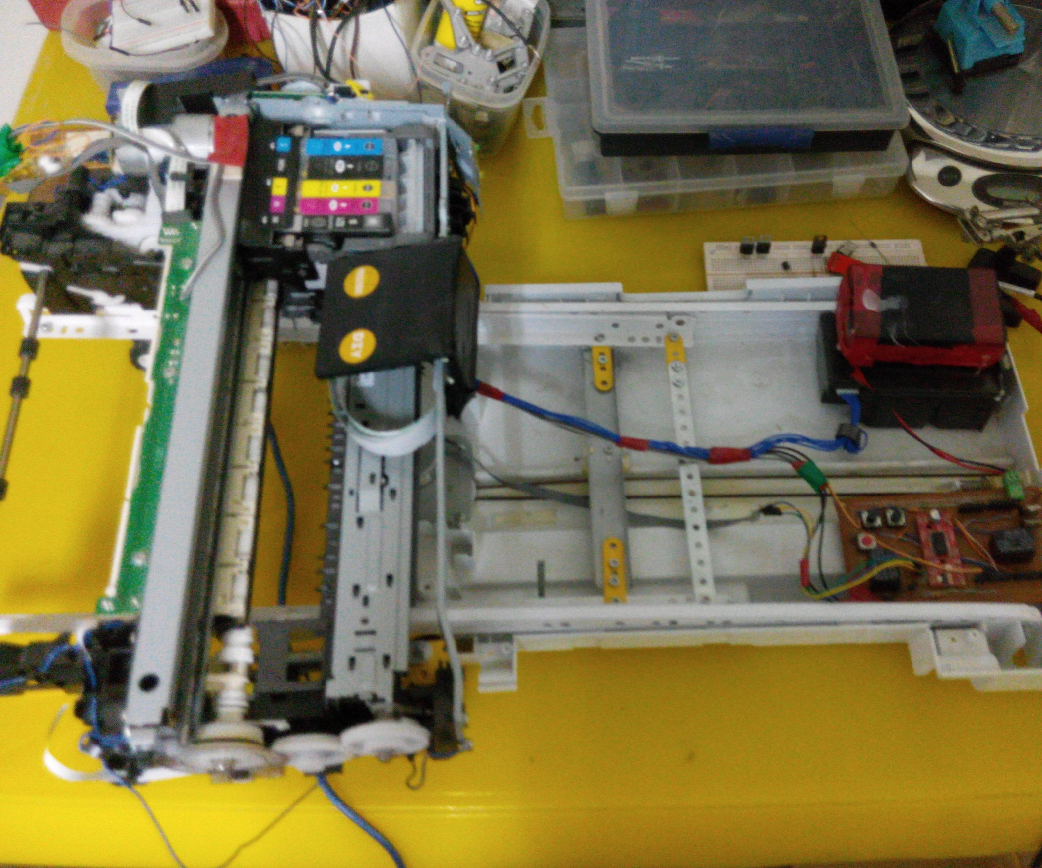 How To Turn Inkjet Printer Print On Coffee 10 Steps With Pictures Cm Flatbed 6 Pin Wiring Harness