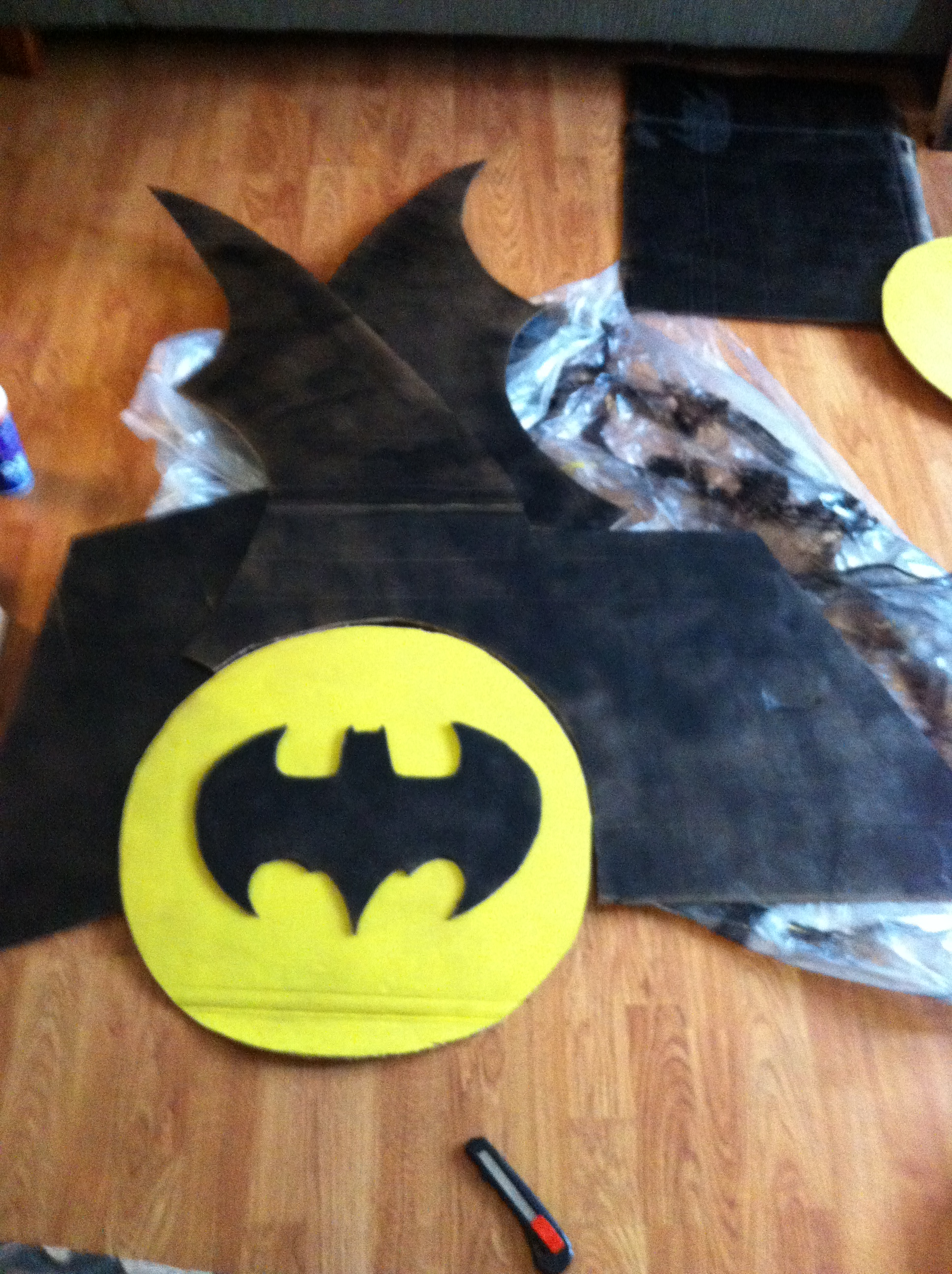 Picture of Wheelchair Batmobile Costume