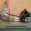 Homemade Oil/Air Pump From Car Parts