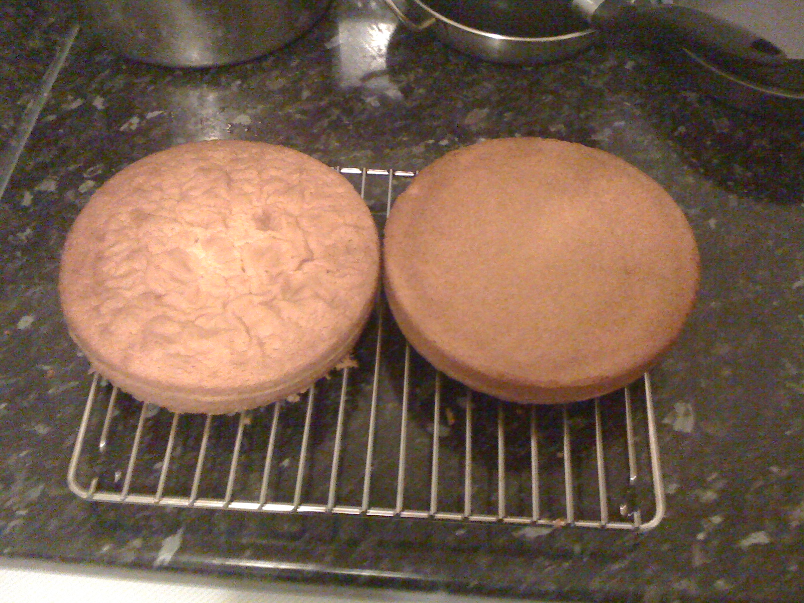 Picture of Cooling the Cakes