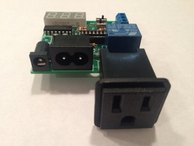 Place and Solder the Large AC Receptacle (CONN2)