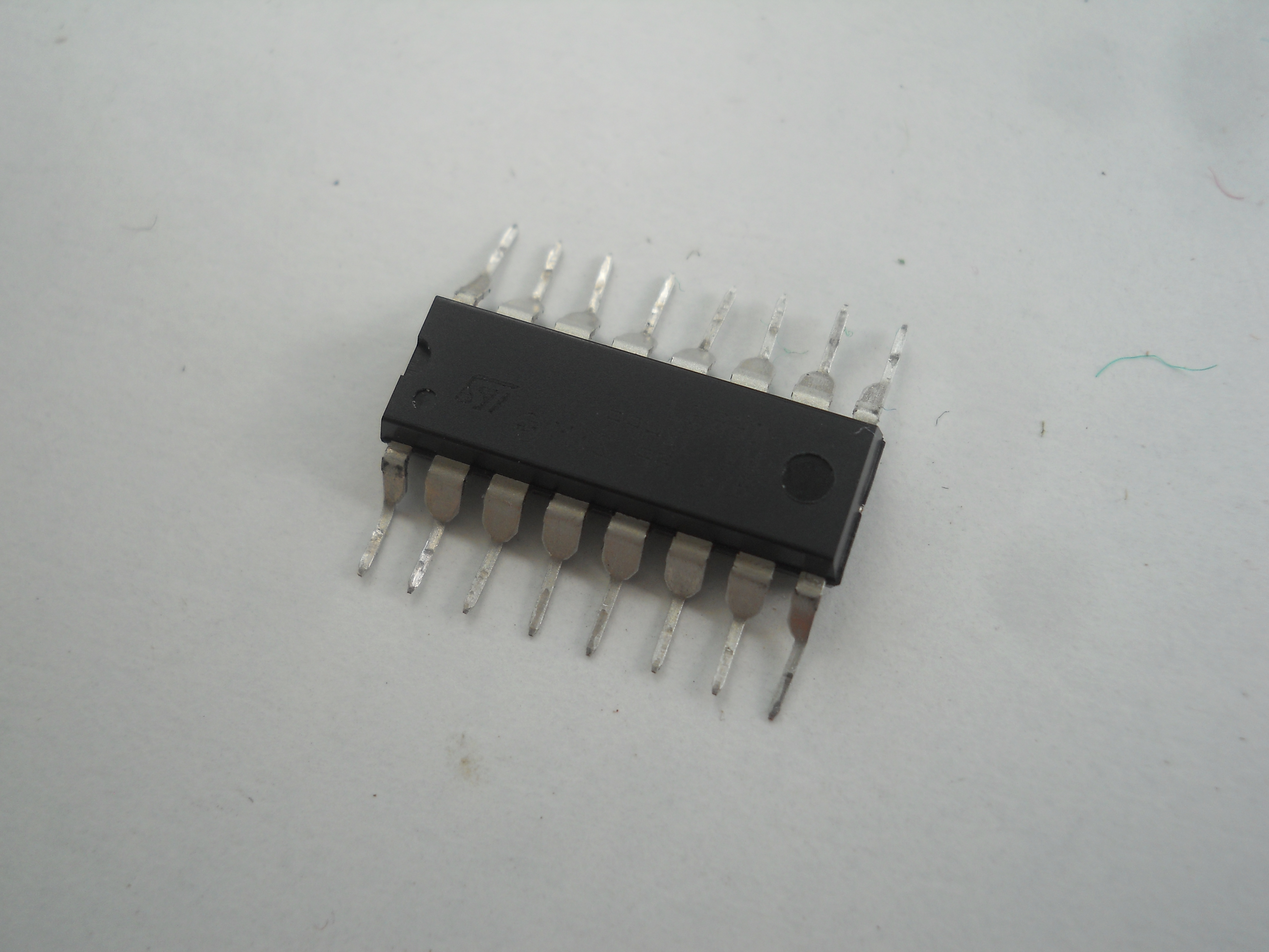 Picture of Soldering Motors to the Driver