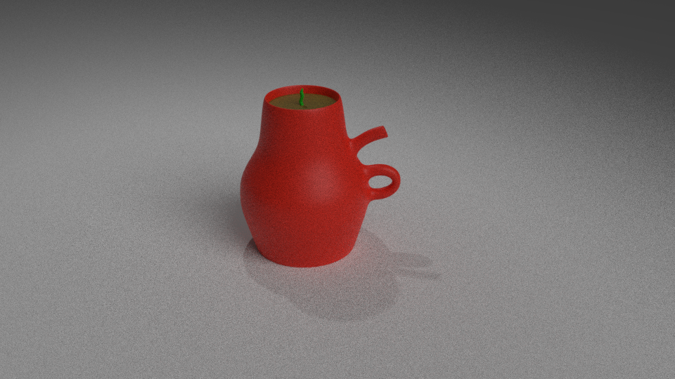Picture of Token Teapot 3D Printed Planter