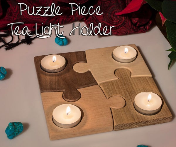 Puzzle Tea Light Holder