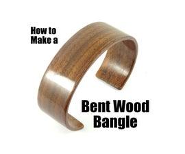 Bent Wood Bangle Cuff Tutorial