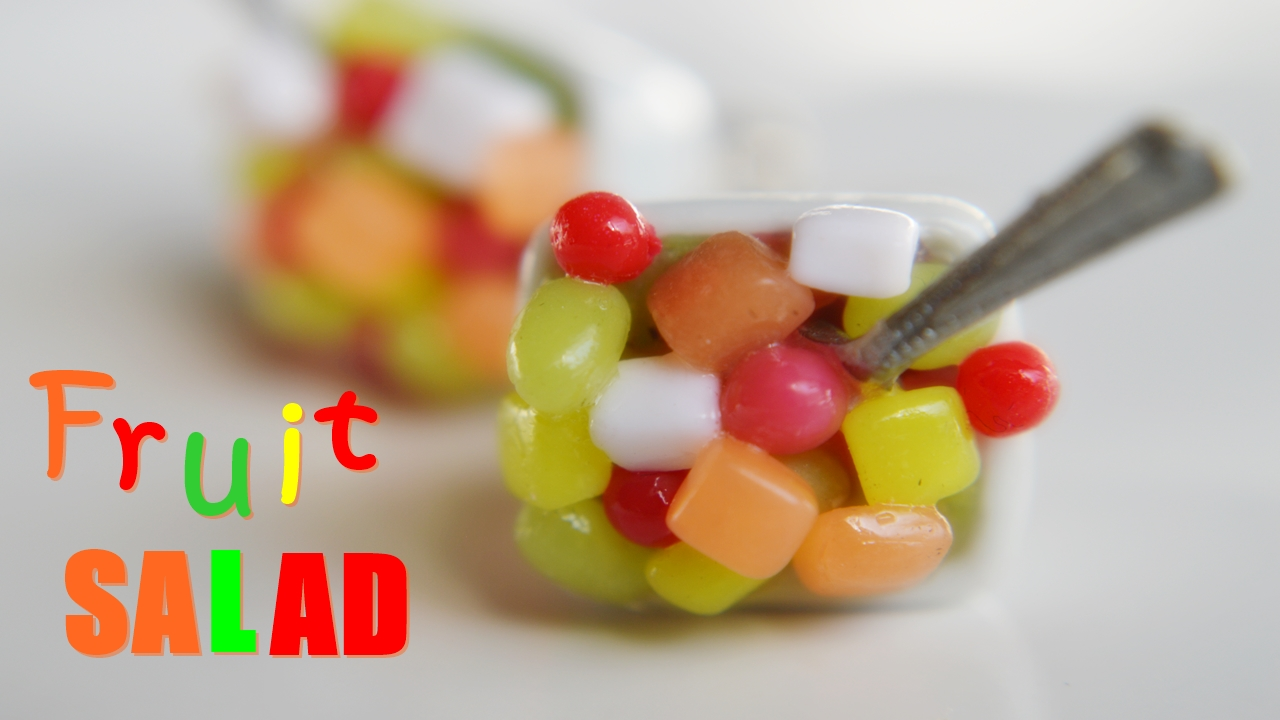 Picture of Mini Scented Fruit Salad Charm Tutorial