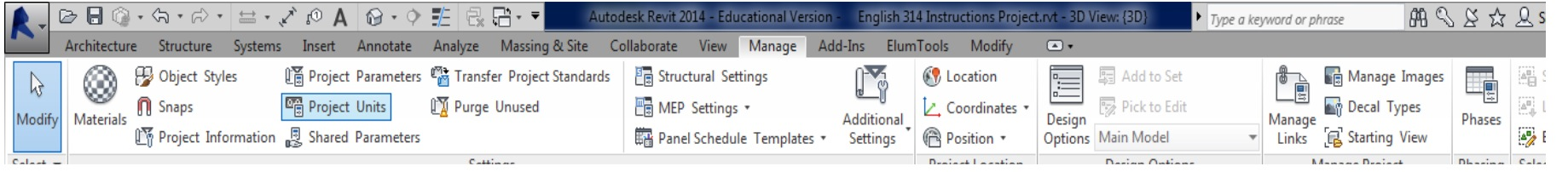 Picture of Adding a New Family of Objects to Revit