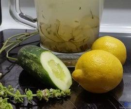 Fancy Cucumber Basil Lemonade