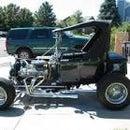Draw A T-bucket Roadster