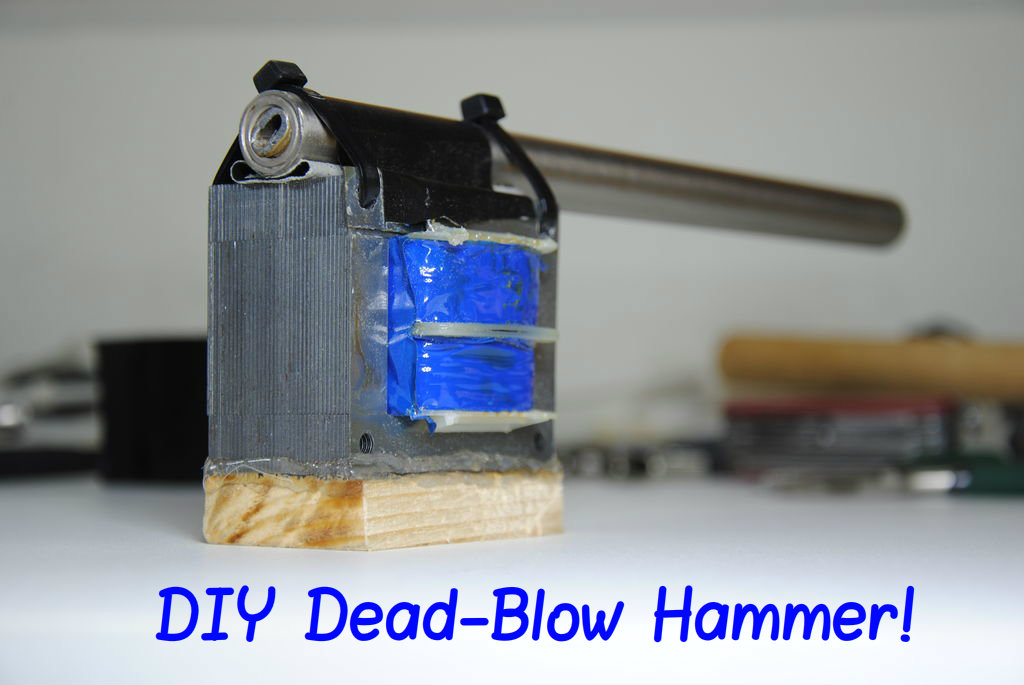 Picture of Make Your Own NON Dead-Blow Hammer!