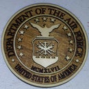 Laser Cut Air Force Emblem