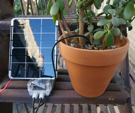 Solar Soil Moisture Meter With ESP8266