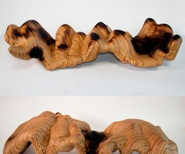Sculptural Explorations in Plywood, Concrete and Glass Using 123D Make