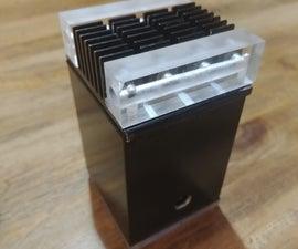 Water-cooling Pump-reservoir-radiator (rasperry Pie 2-B)