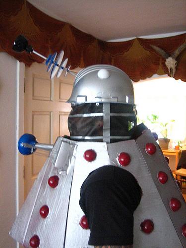 Picture of Dalek Costume!