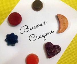 DIY Beeswax Crayons