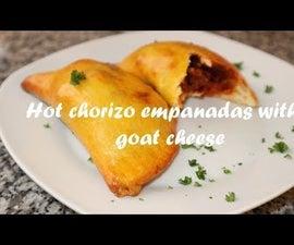 Hot Chorizo Empanadas With Goat Cheese Recipe