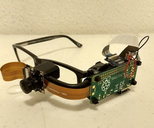 Poor Man's Google Glass/Aid for Those With Tunnel Vision