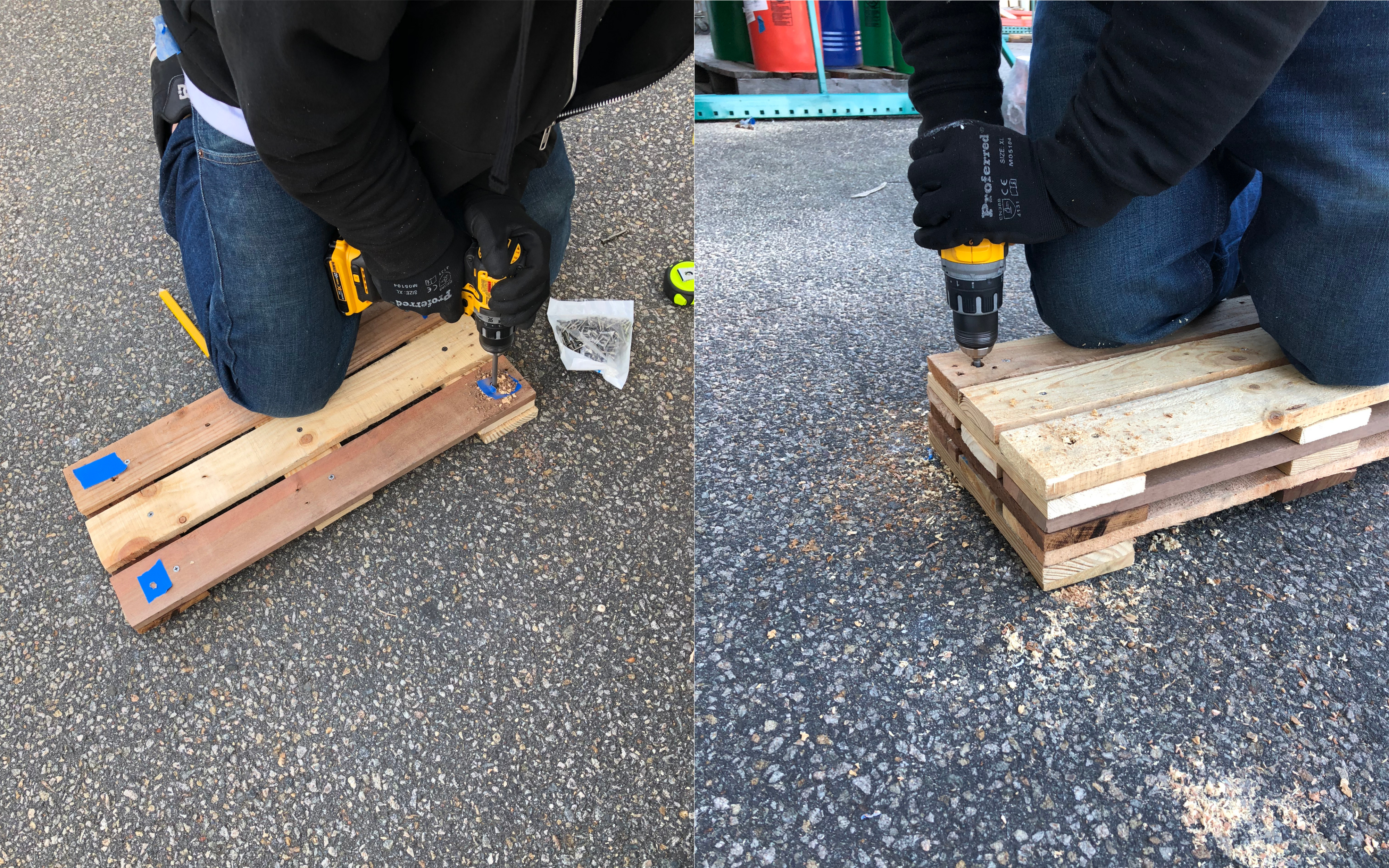Picture of Drilling the Holes