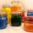 Powder Coating Glass - Glass Container