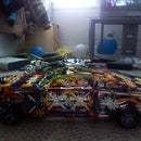 knex 2011 mustang shelby GT500 (updated)