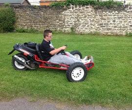 Reverse Go Kart Trike Scooter