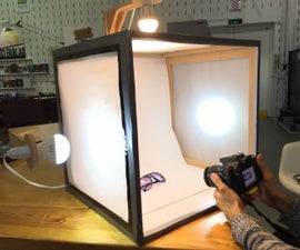 Photography Light Box Tent