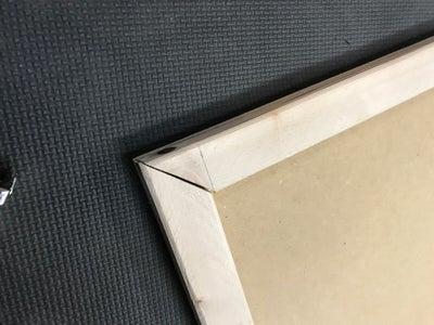 Step 1: Cuts and Glue Frames to Base.