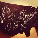 DIY Chalkboard USA