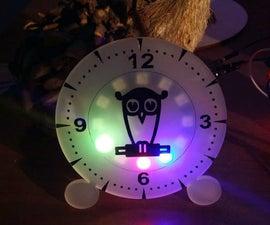 Rainbow Ambient Clock