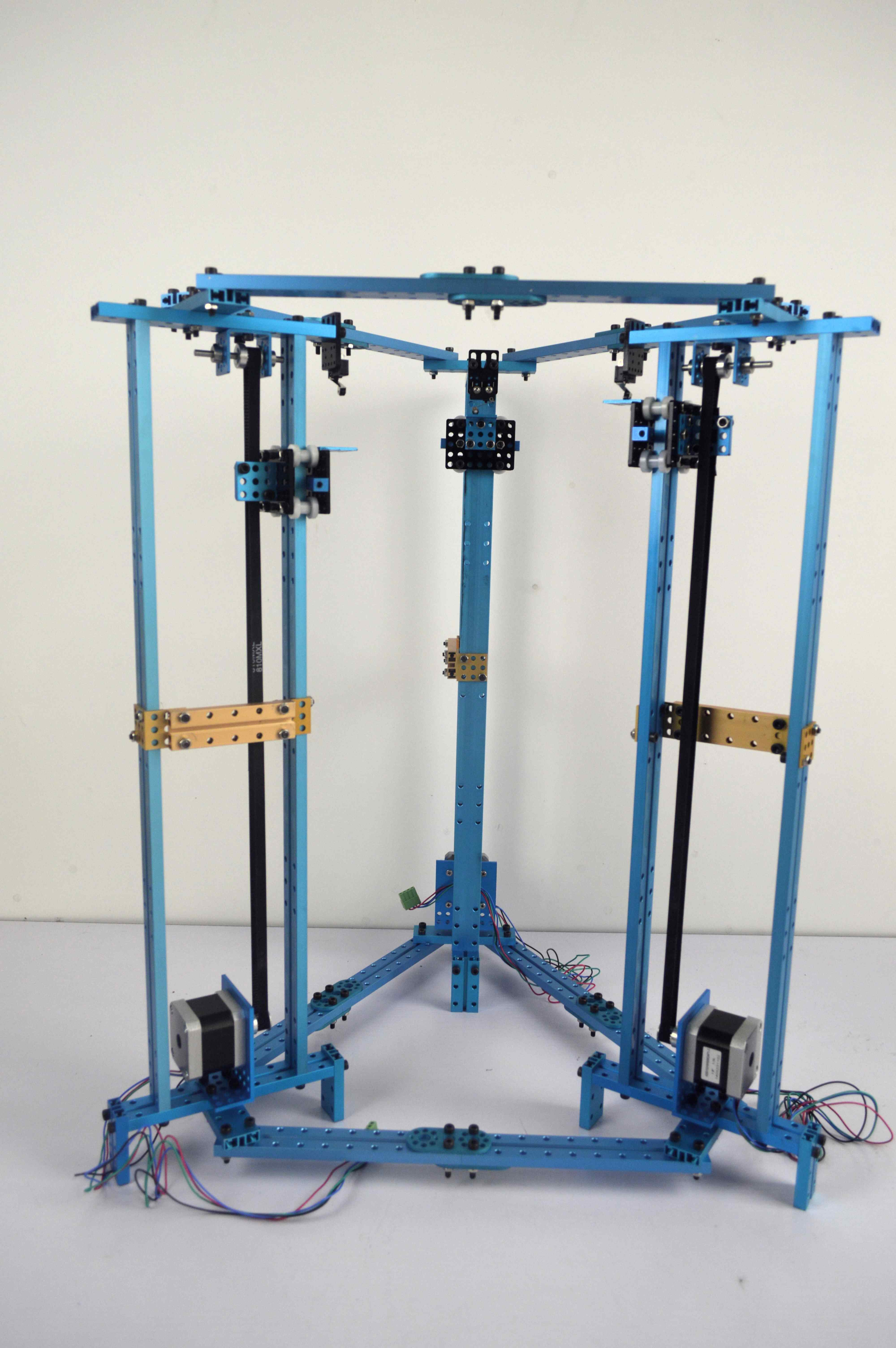 Picture of Build the  Body of Delta Robot