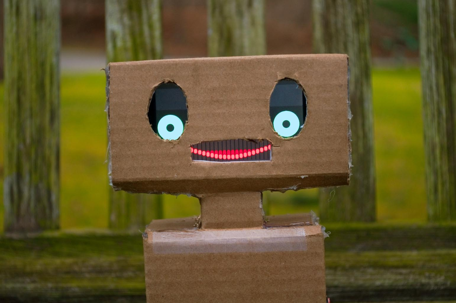 Picture of Mimbo - a Friendly Robot