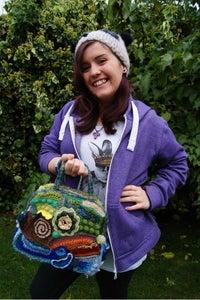 Freeform Crochet Bag: