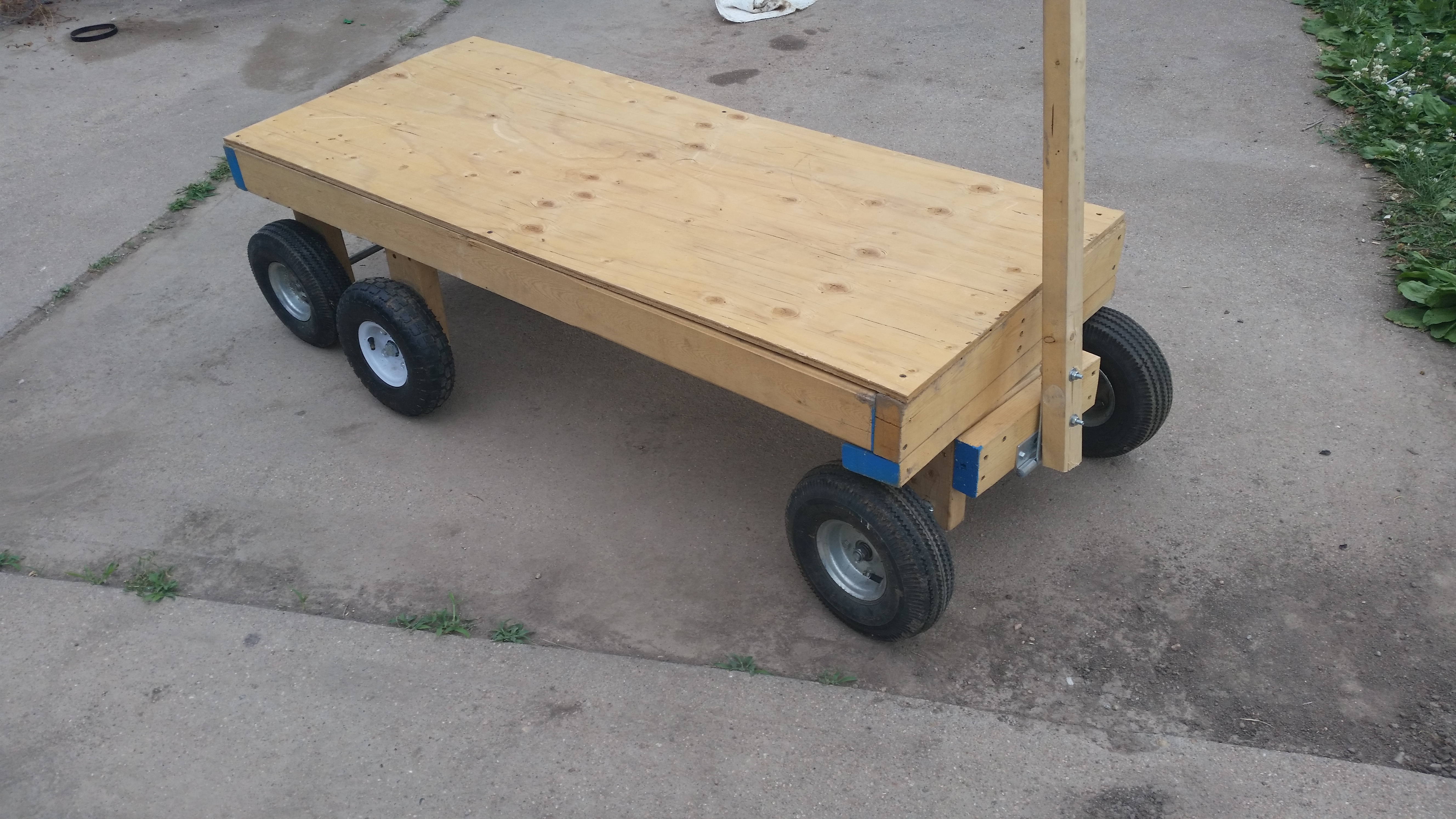 6 Wheel Garden Wagon 5 Steps With Pictures