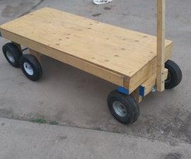 6 Wheel Garden Wagon