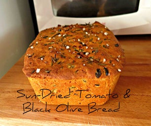 Sun-dried Tomatoes & Black Olive Bread