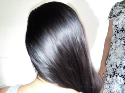 Comb the Hair and Side Part