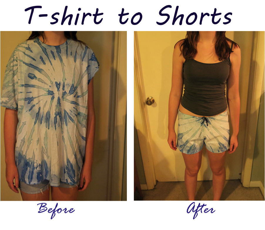 4cfb33657c035b Make a Pair of Comfy Shorts Out of an Old T-shirt  5 Steps (with Pictures)