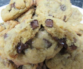 Chewy Chocolate Chip and Walnut Cookies