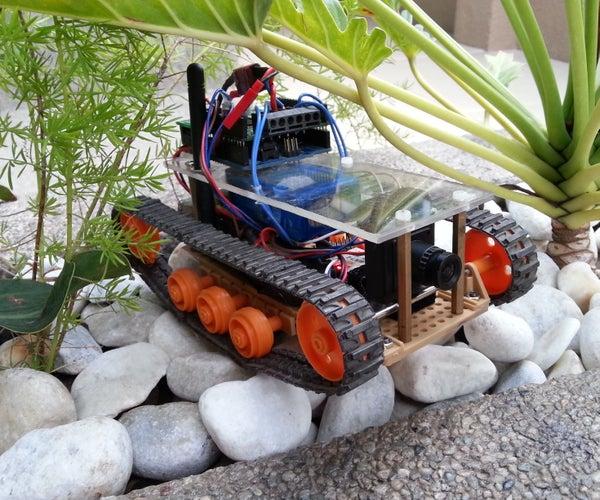 DIY FPV RC Tank V2 [2km RANGE Upgrade!]