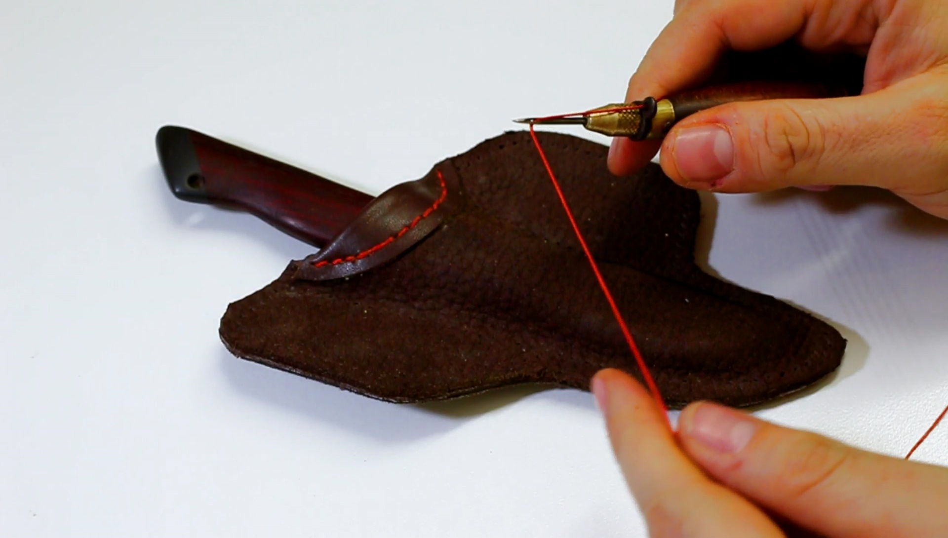Picture of Sewing the Sheath