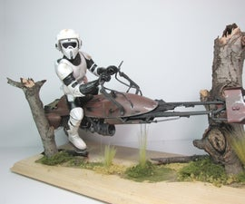 Vintage MPC Scout Trooper Model - Mod