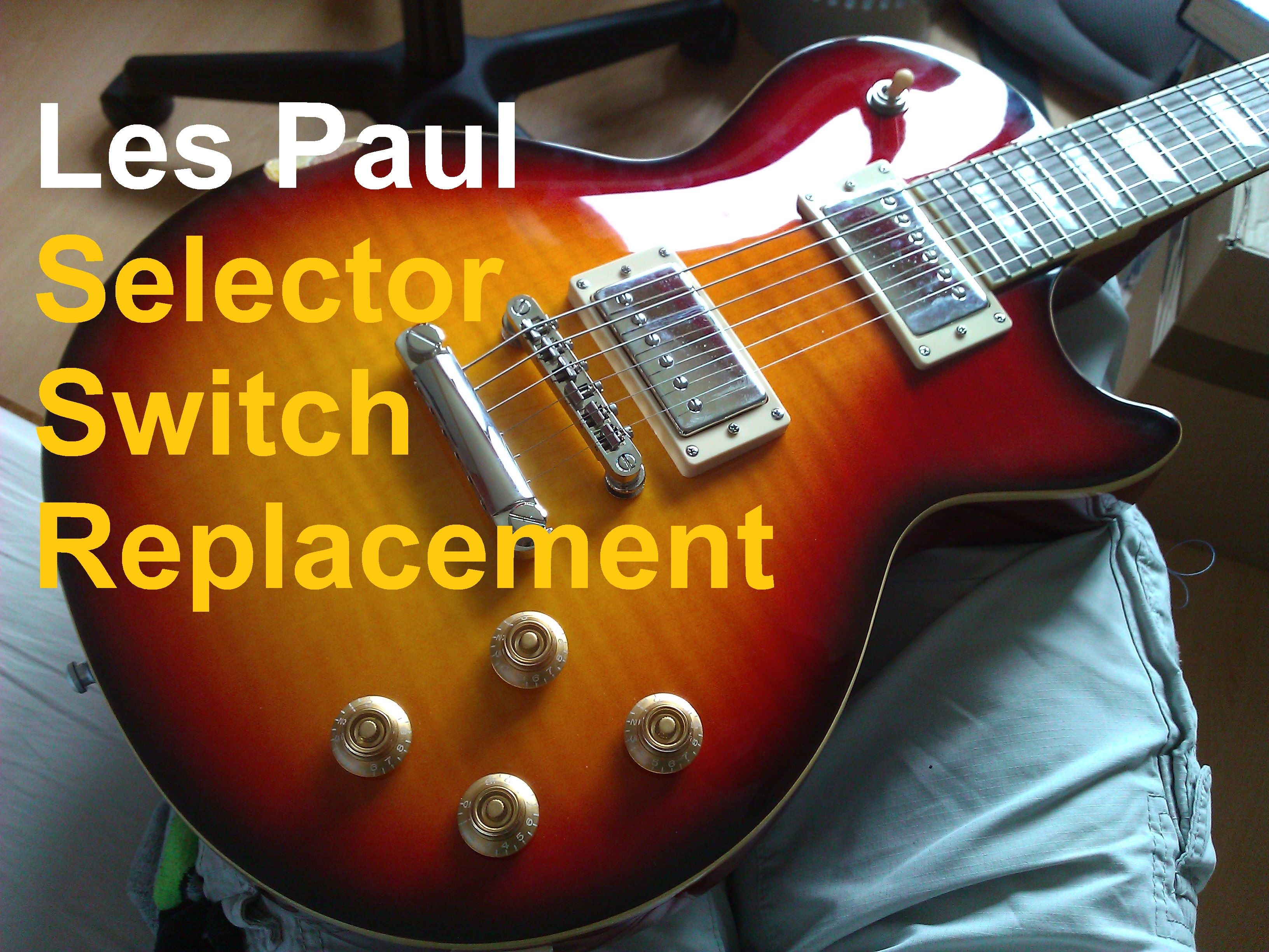 Picture of Les Paul Switch Replacement