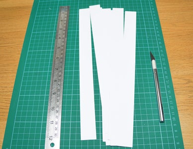 Cut the Paper Into Strips