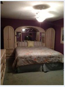 I Find a 21 Year Old Oak Bedroom Set, With Purple Mind You