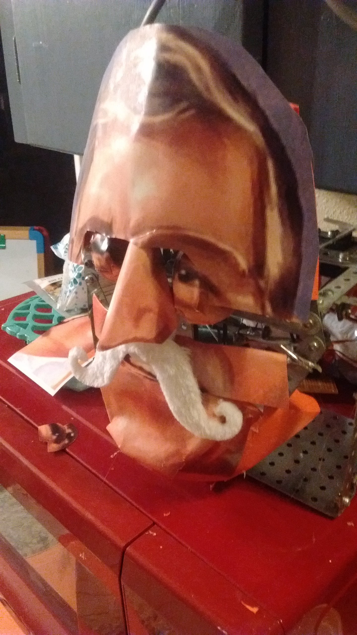 Picture of Step 4 - Nose and Mustache