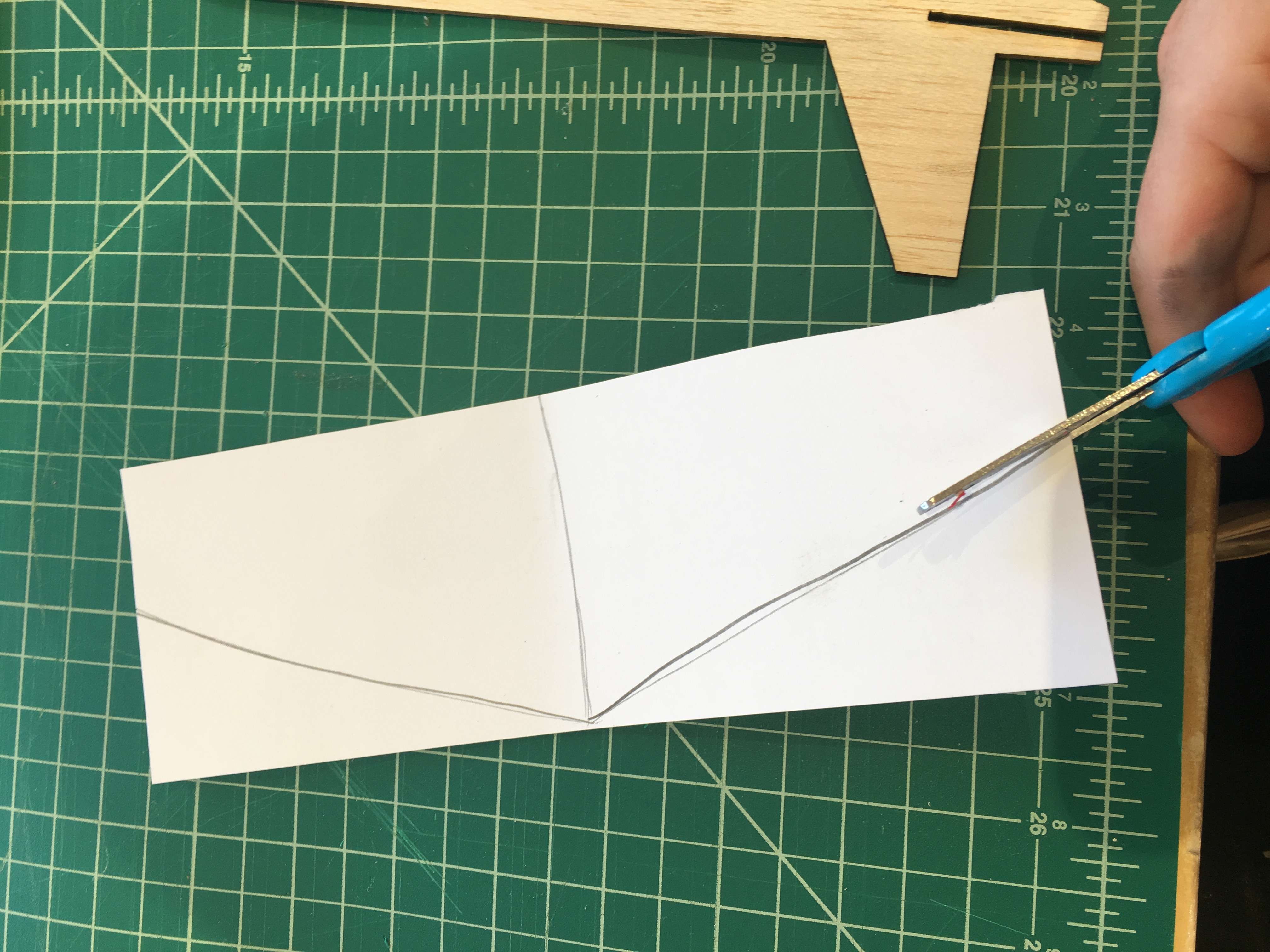 Picture of Cutting Out Design