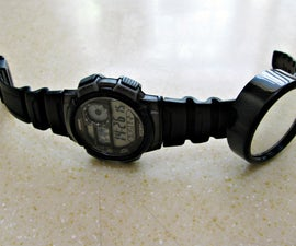 Magnetic Bicycle Wrist Mirror